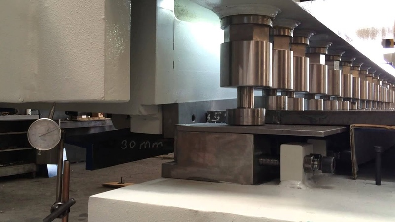 Рубка металла 30 мм ST 52 на гильотине Metal Master HCN