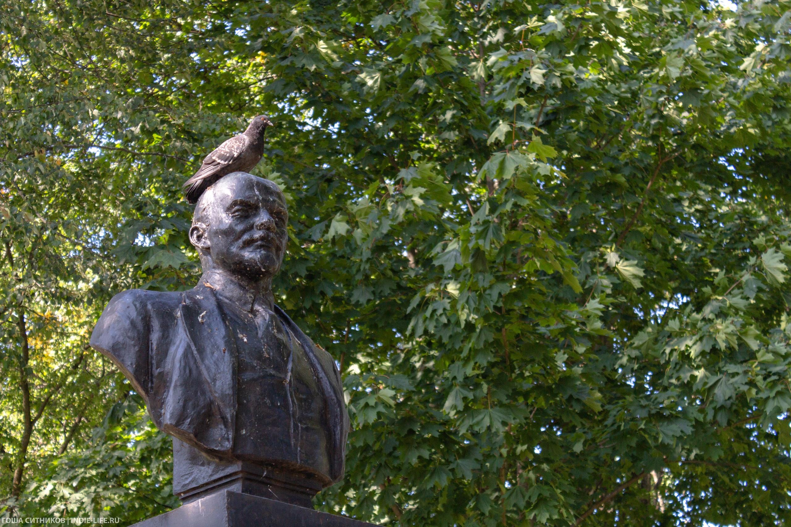 Памятник Ленину Шлиссельбург