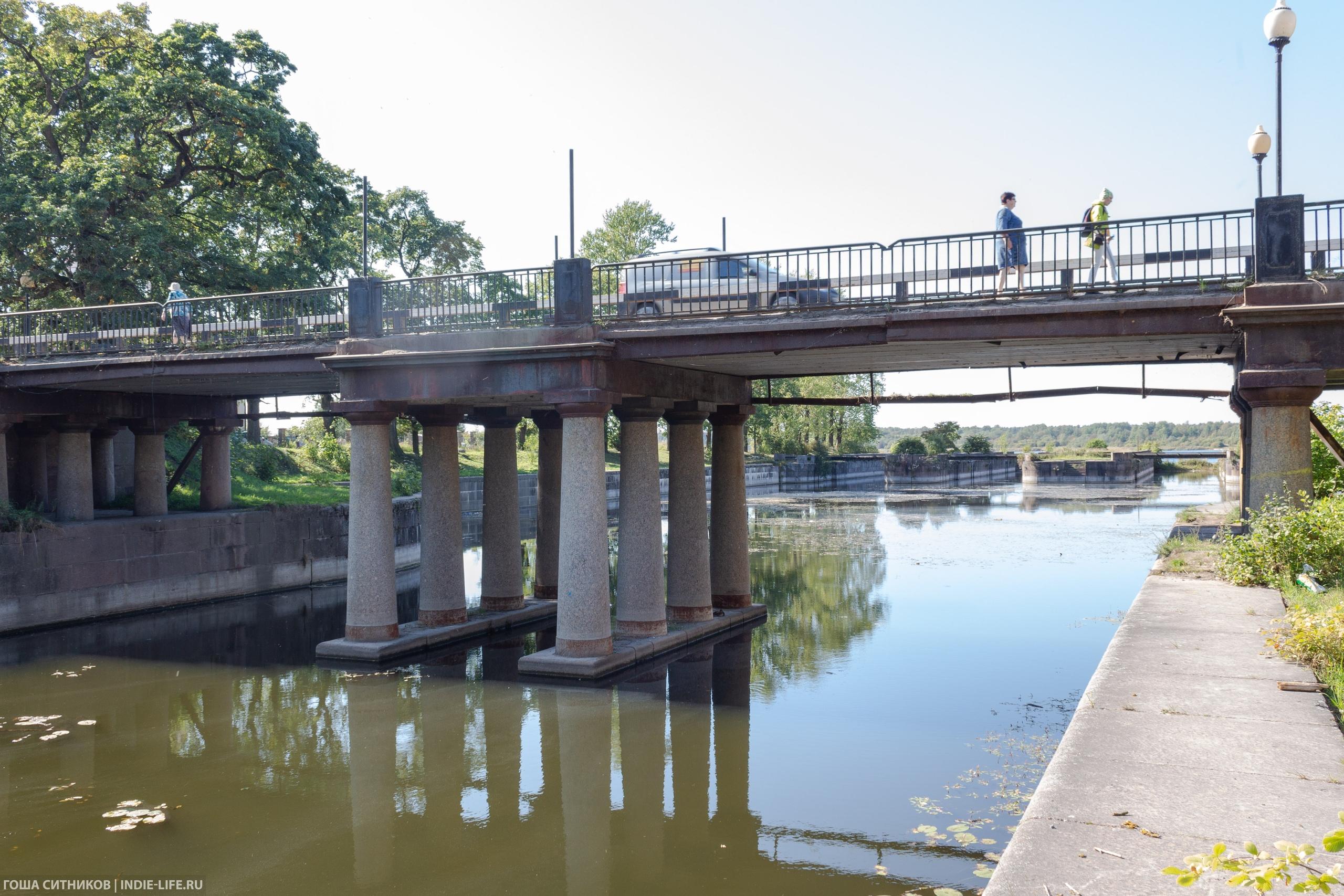 Мост Шлиссельбург