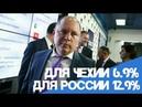 Почему в России процентная ставка по кредиту в Сбербанке больше чем в Чехии/ Ответ поразил всех