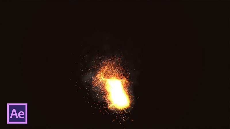 Огонь и дым с Trapcode Particular в After Effects (Fire and Smoke with Trapcode Particular)