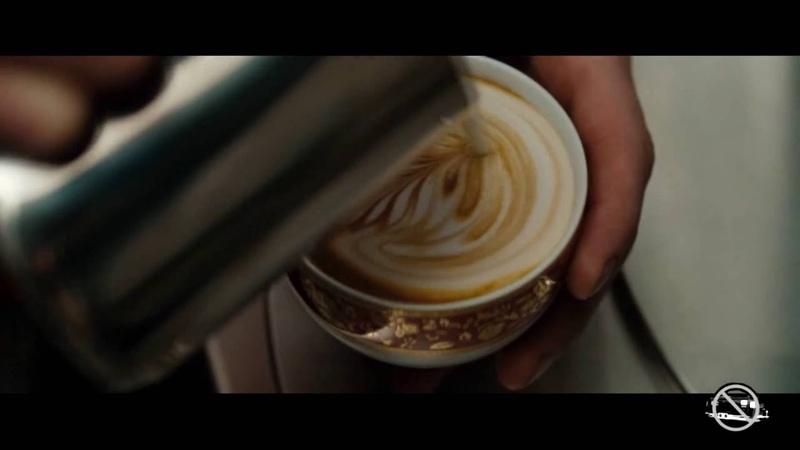 Зеленый шершень, The Green Hornet, Като, Сцена с кофе
