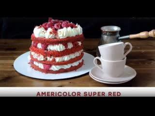 Обзор на красный краситель Americolor Super Red. Pauline School