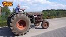 Такой ЮМЗ МТЗ 5 вы ещё не видели Belarus tractor with Caterpillar v8