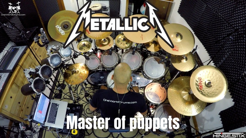 Metallica Master of Puppets Drum Cover
