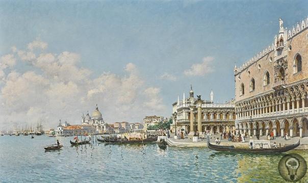 Венеция в искусстве,.