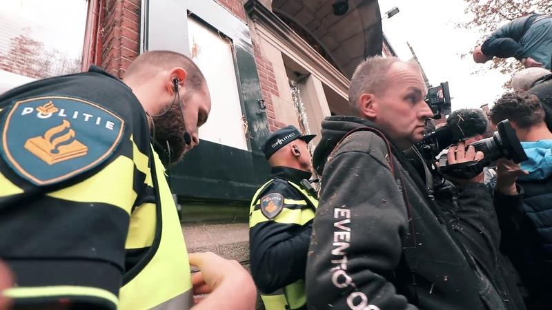 BOEREN PROTEST GRONINGEN LOOPT UIT DE HAND