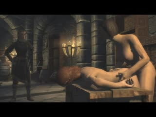 Futanari: Medieval Shemales fucks unconscious Girl - Hardcore Fantasy FUTA Porn Game