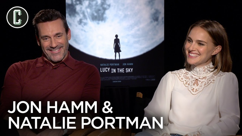 Lucy in the Sky Natalie Portman Jon Hamm Interview