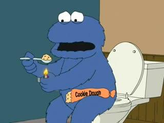 Гриффины - family guy | cookie monster