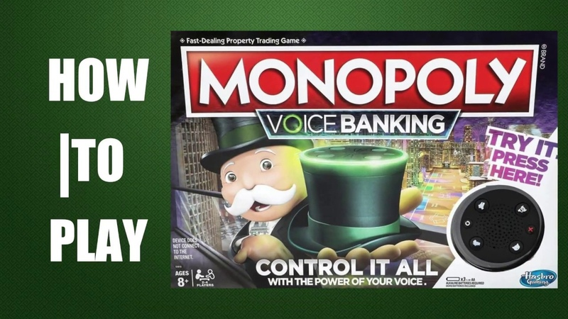 How To Play Monopoly Voice Banking by Hasbro