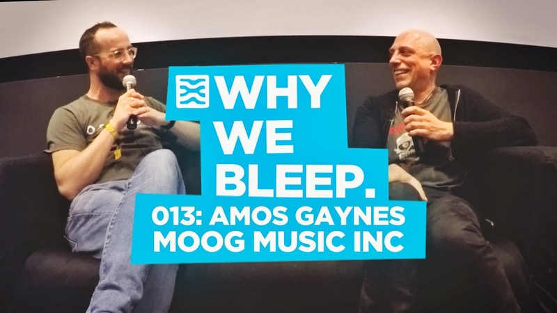 Why We Bleep Podcast 013 Amos Gaynes Moog Music Inc