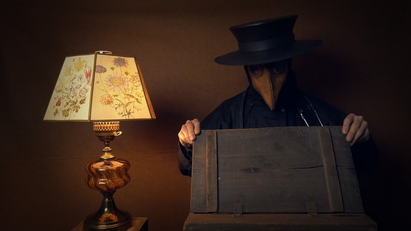 What's in the Box 1 with Corvus Clemmons ASMR Plague Doctor