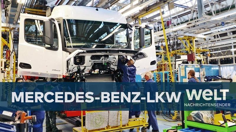 Mercedes-Benz-Lastwagen: Die größte LKW-Fabrik der Welt - Reportage