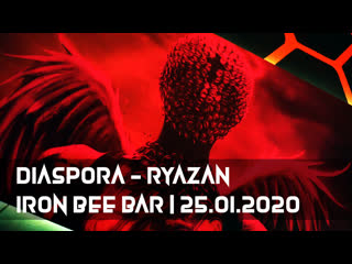 Diaspora rzn | iron bee bar |
