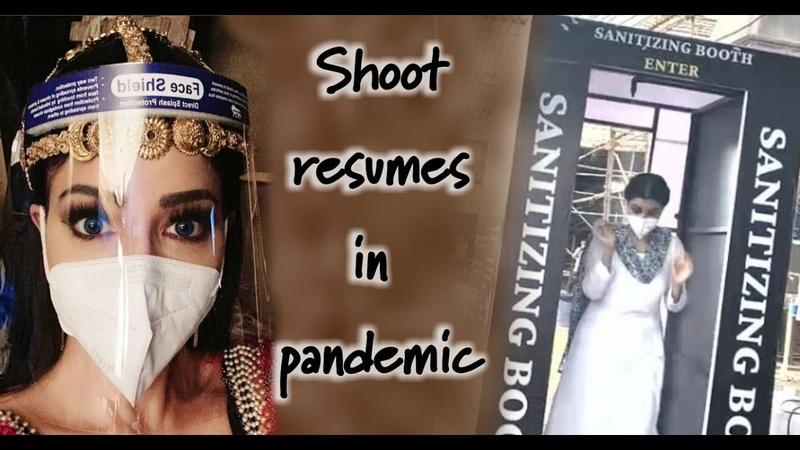 Shoot Resumes in Pandemic | Aladdin Naam Toh Suna Hoga