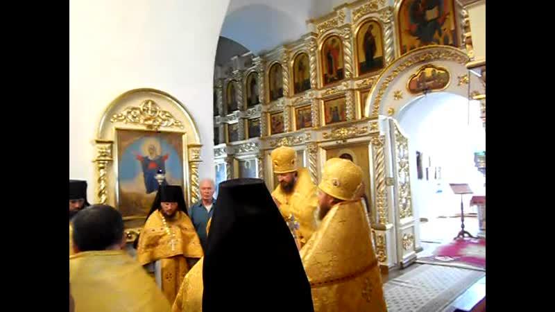 Крестный ход с мощами прп.Феодора (9). Санаксарский монастырь (2011 г.)
