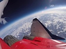 В стратосфере видео полета МиГ-29 на высоте 19 километров