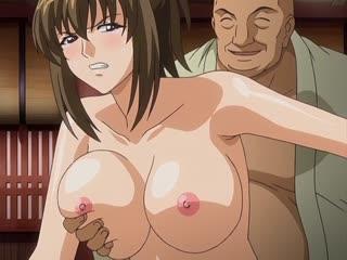 Helter Skelter: Hakudaku no Mura - 01 [JAP + субтитры RUS,ENG] [CEN] (Хентай,hentai, bdsm,бдсм, изнасилование,rape)