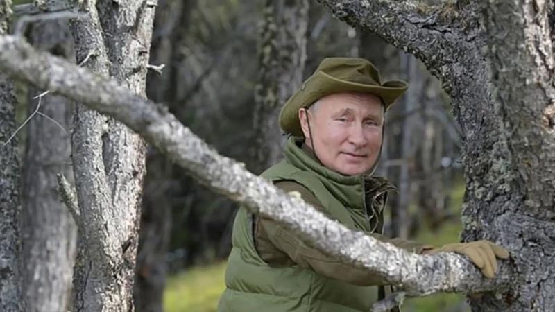 Отдых Путина в тайге восхитил британцев