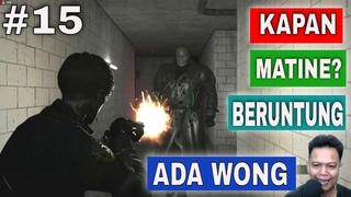 Resident Evil 2 Indonesia Leon #15 Di selamatkan Ada Wong dan Keluar dari Parkir Bawah Tanah
