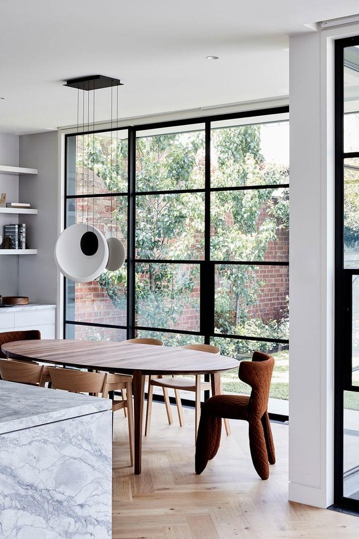 Интерьер с японскими нотками в доме в Мельбурне