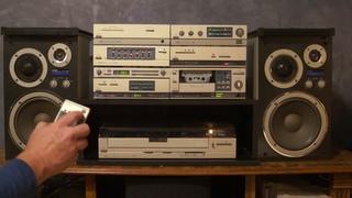Rare AIWA Vintage Mini Component System M-808 80's Hi-Fi