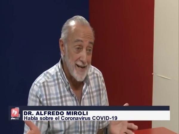 CORONAVIRUS Consejos del Dr Alfredo Miroli