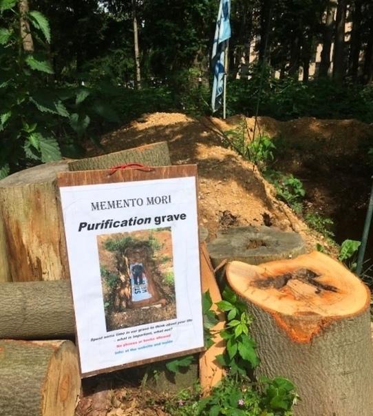 Нидeрландский унивeрситет выкопал могилу для студентов