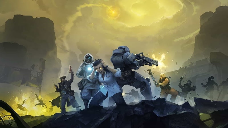 Encased: A Sci-Fi Post-Apocalyptic RPG [1] RUS - 2019
