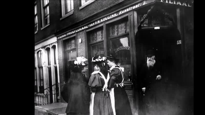 Улицы Амстердама 1890 х годов в объективе нидерландского импрессиониста Георга Хендрика Брейтнера