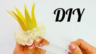 Корона из фоамирана для малютки-принцессы DIY Natalia Kvasha