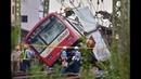 京急線 衝突事故 発生直後 車内・脱出の映像まとめ Keikyu accident, Truck and train collision in Yokohama Japan