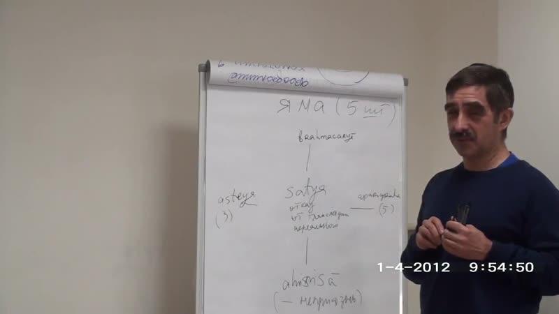 Комментарии к Йога сутрам Патанджали. Глава 2. Андрей Парибок , Ринад Минвалеев.