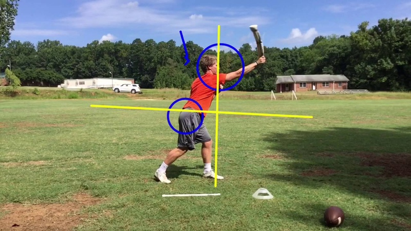 How to Play Quarterback Improving Throwing Technique Without a Ball Drill 1 Hips Throw