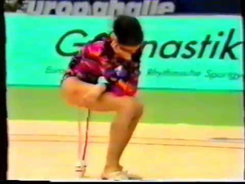 Maria PETROVA BUL clubs 1992 DTB Cup EF