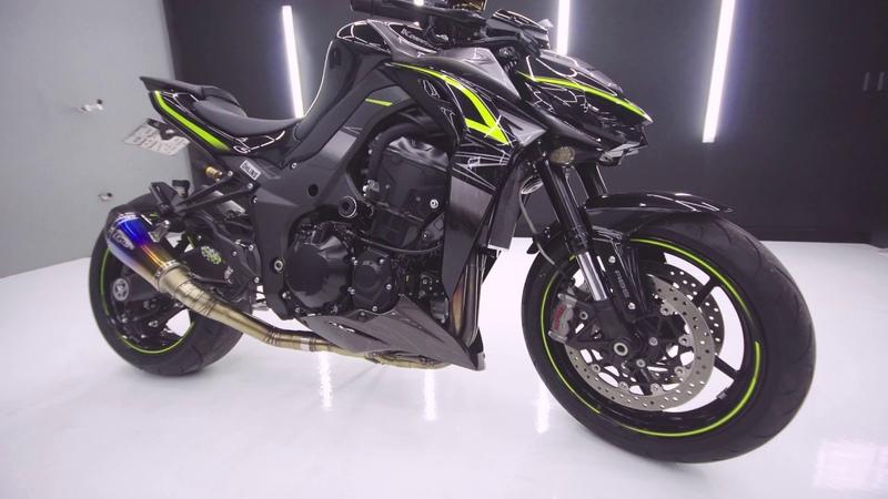 Kawasaki Z1000 Detalhamento Automotivo Detailing
