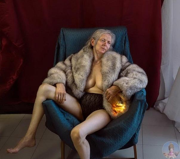 «Моя мать, Даниэла» фотопроект Nio Giovanni Coniglio Искренние и обескураживающие фотографии пожилой женщины