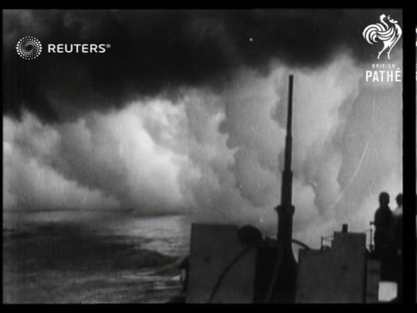 Allied forces attack the islands of Pantelleria and Lampedusa 1943