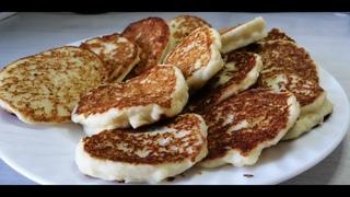 Сырные оладьи//ПП сырники, вкусный завтрак 👌