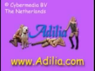 Adilia the dutch slut deepthoats horse cock