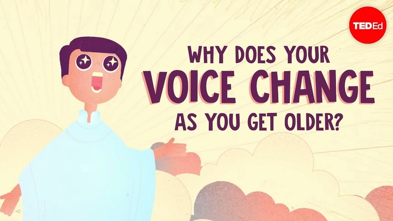 Why does your voice change as you get older Shaylin A Schundler