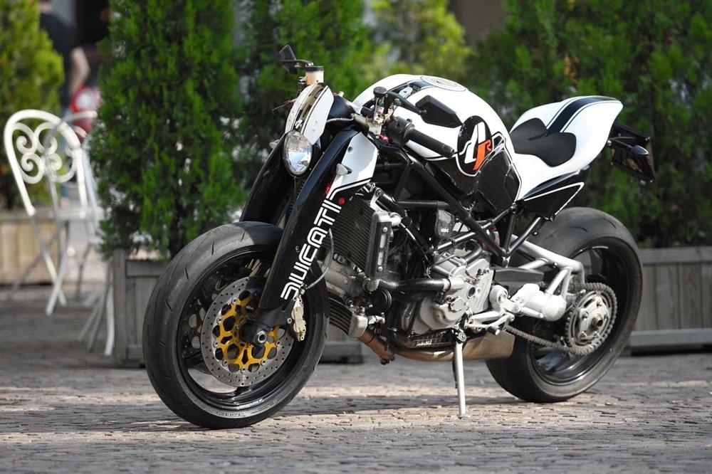 Ducati Monster S4R с комплектом Tex Design