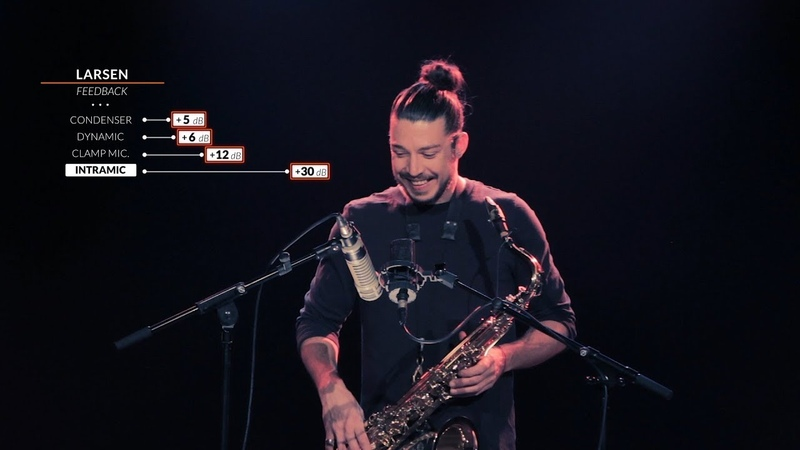 Demo 01 Sax Tenor intraMic versus Standard Microphones Guillaume Perret
