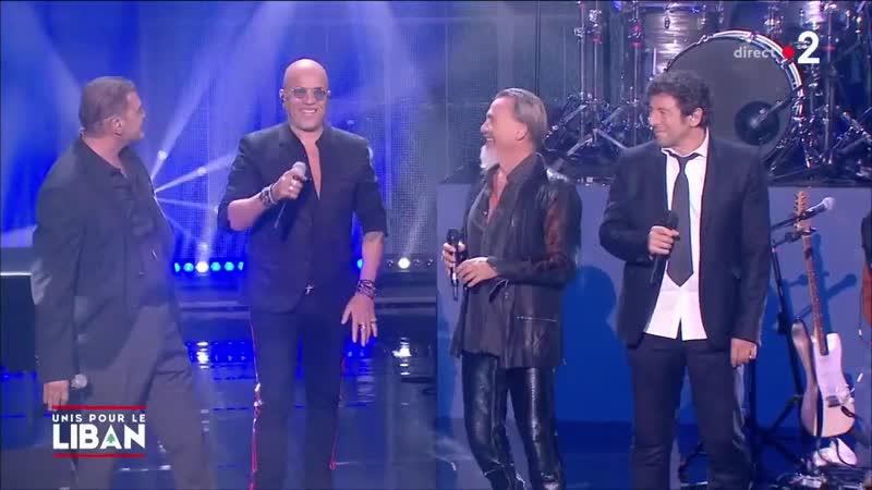 Patrick Bruel L'envie d'aimer Le grand concert Unis pour le Liban France 2 01 10 2020