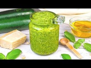 Pesto de courgettes : Recette très rapide ! Pour apporter du soleil à votre table !