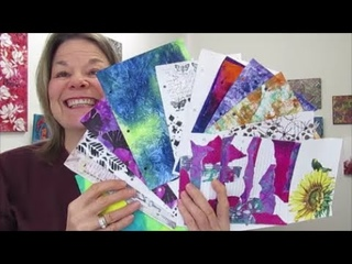 Art Journal Mixed Media- 10 WAYS TO BREAK THE BLANK PAGE