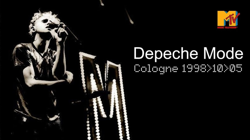Depeche Mode ► LIVE in Cologne MTV 1998 ► AWESOME PROSHOT