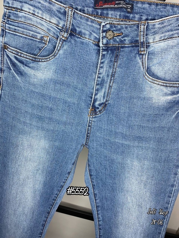Стильные джинсы   Качество ЛЮКС  Стрейч  Размеры 31, 32, 33, 36, 38  Длина по внешнему шву 107 см  Длина по внутреннему шву 80 см  Цена   Фото сделано нами вживую