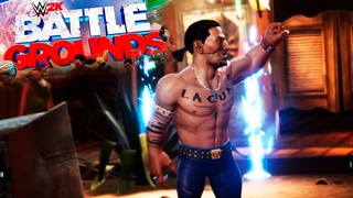 ИГРАЮ ЗА МЕКСИКАНЦА, WWE 2K Battlegrounds PS4